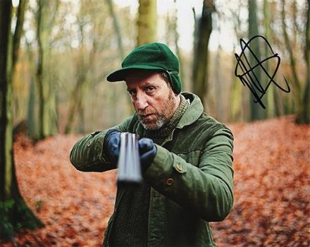 Michael Smiley, signed 10x8 inch photo.